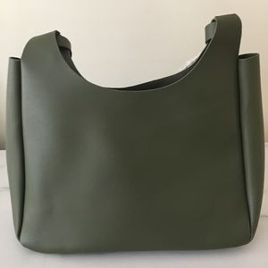 Everyday leather shoulder bag - Neiman Marcus